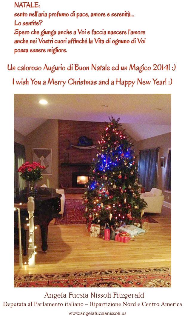Auguri di buone feste da on. Nissoli Angela Fucsia