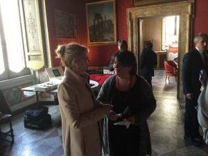 """On. Nissoli con Daniela Puglielli in visita agli stand di """"Sapori Mediterranei"""""""